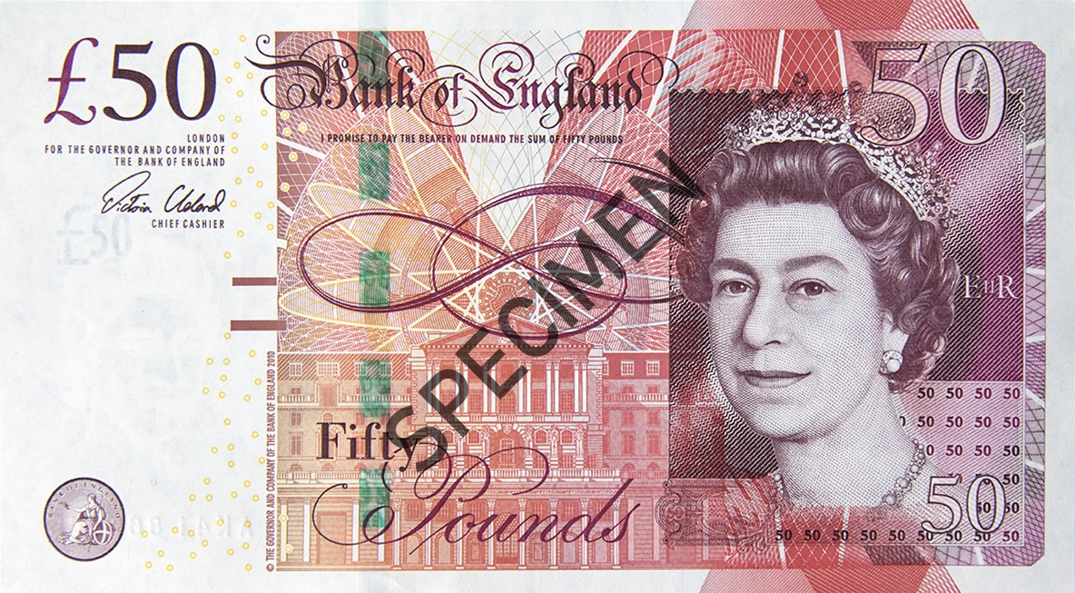 Current banknotes | Bank of England