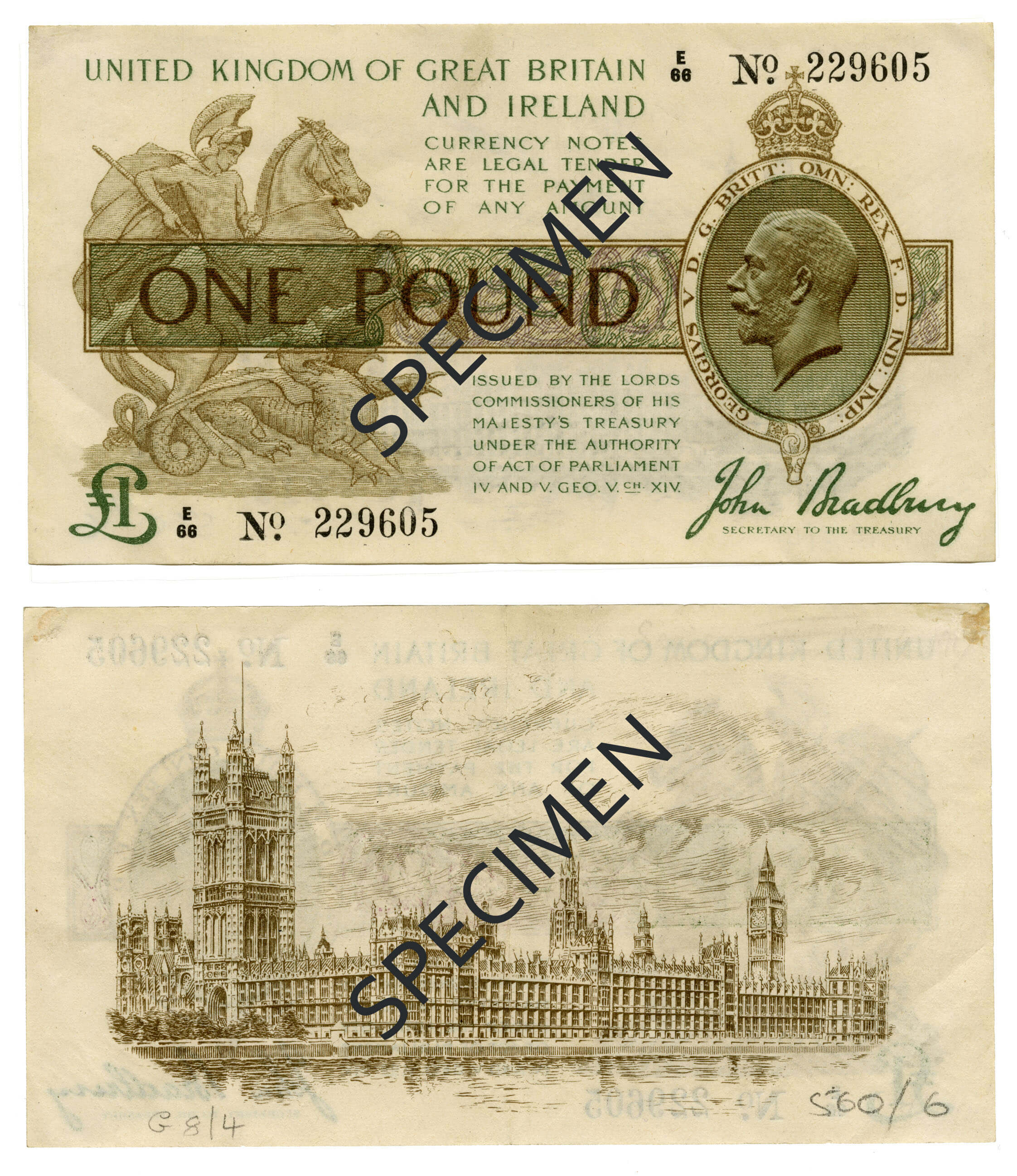 Withdrawn banknotes | Bank of England