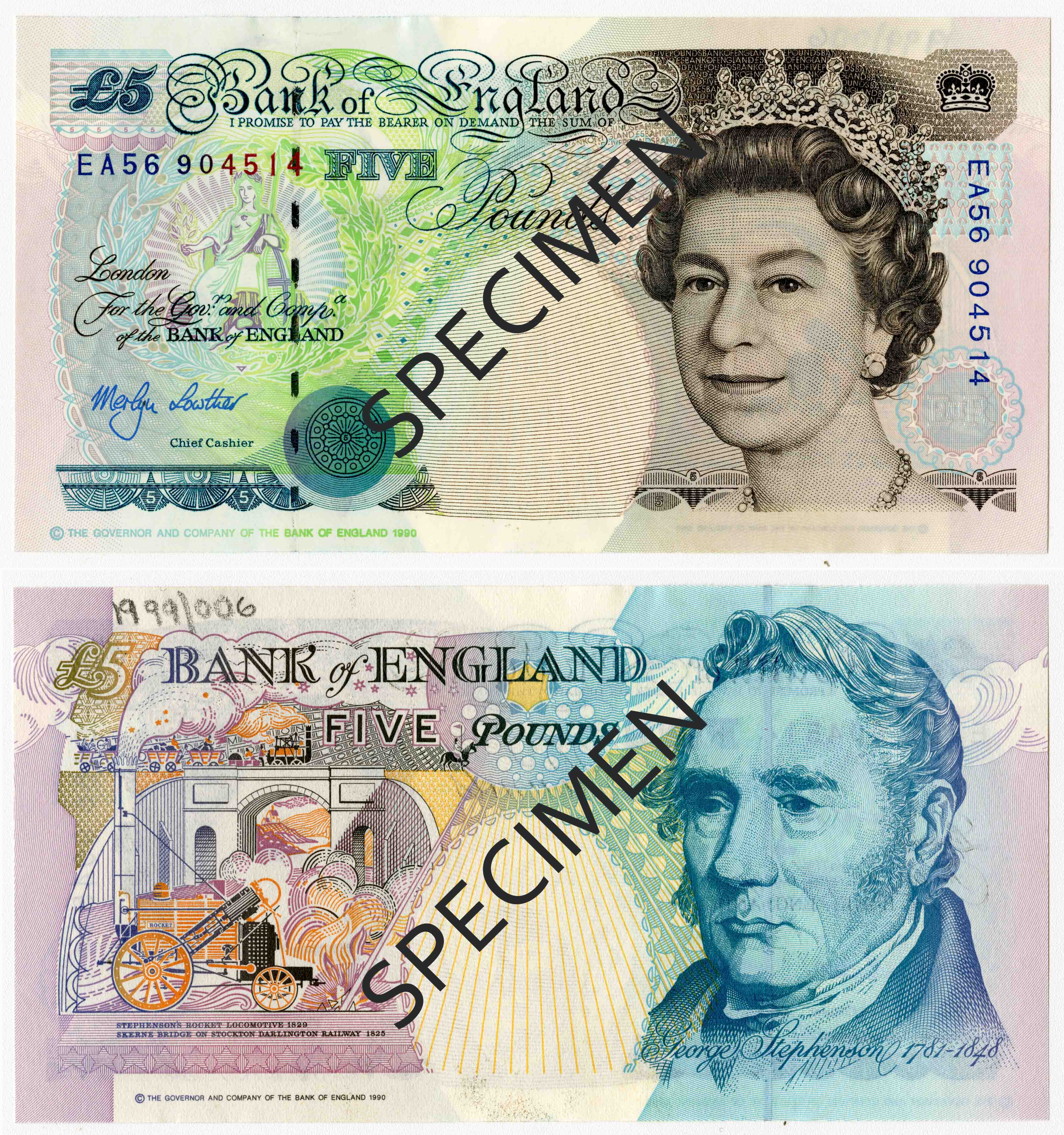 current english 20 pound note