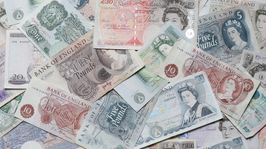 Withdrawn banknotes