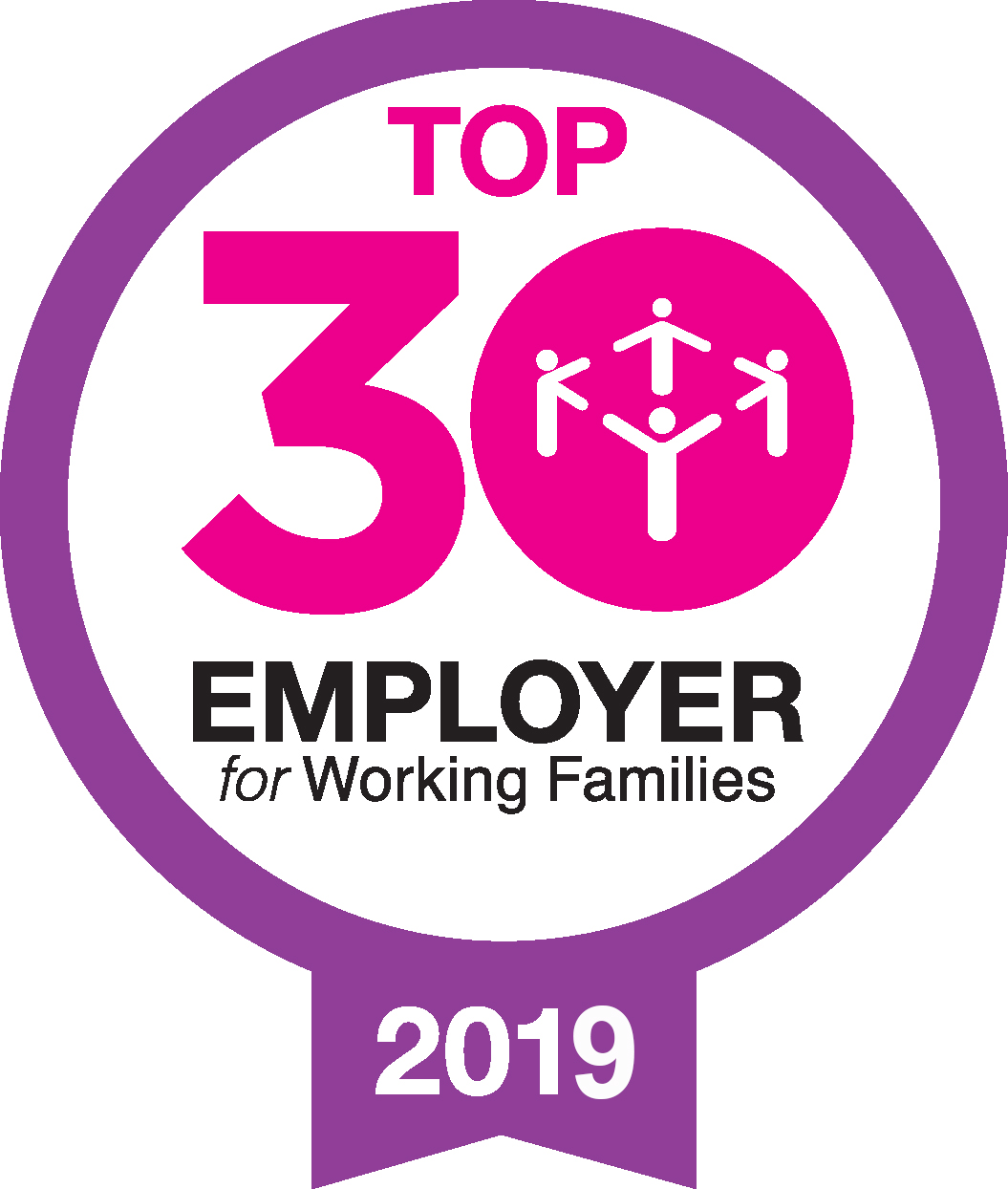 Top 30 employer for working families 2019