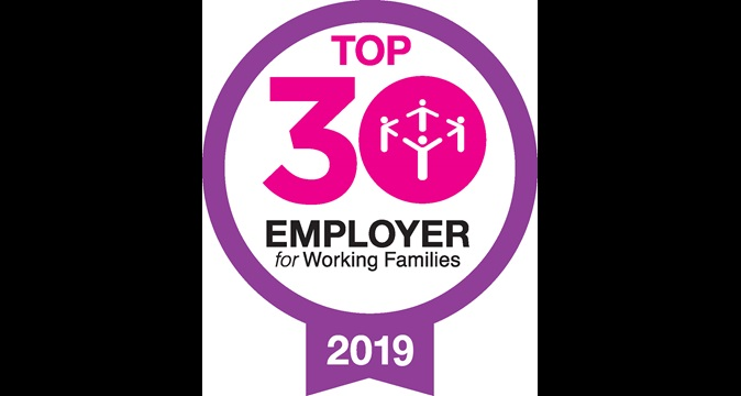 Top 30 employer for working families 2017