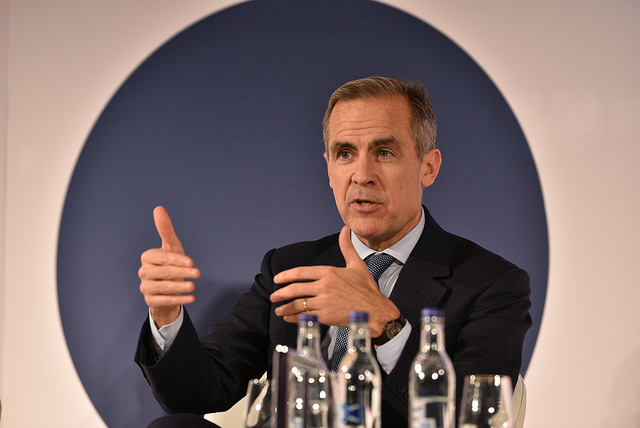 Mark Carney speaking at Future Forum 2017