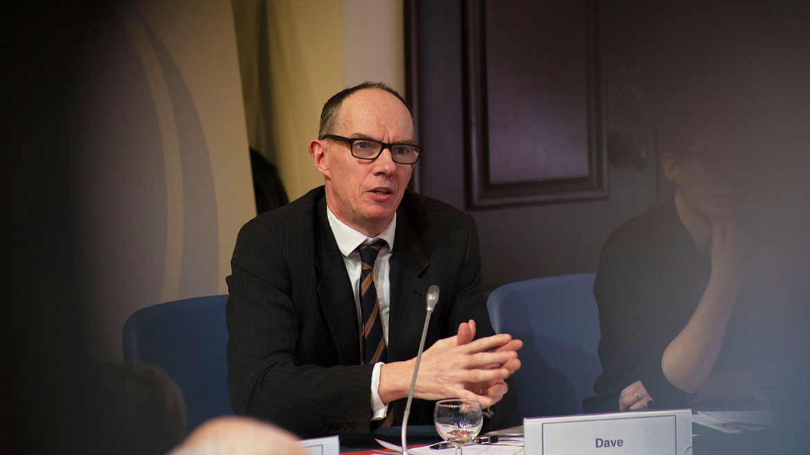Sir Dave Ramsden at Future Forum roundtable