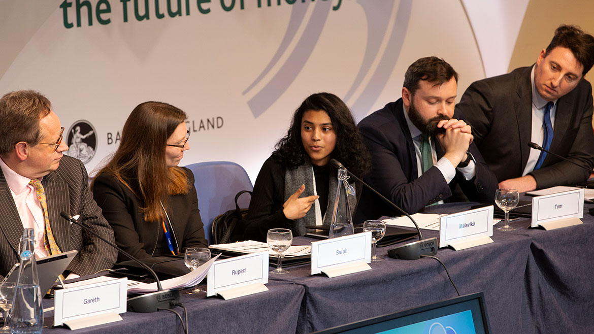Future Forum commentators speaking at the public roundtable