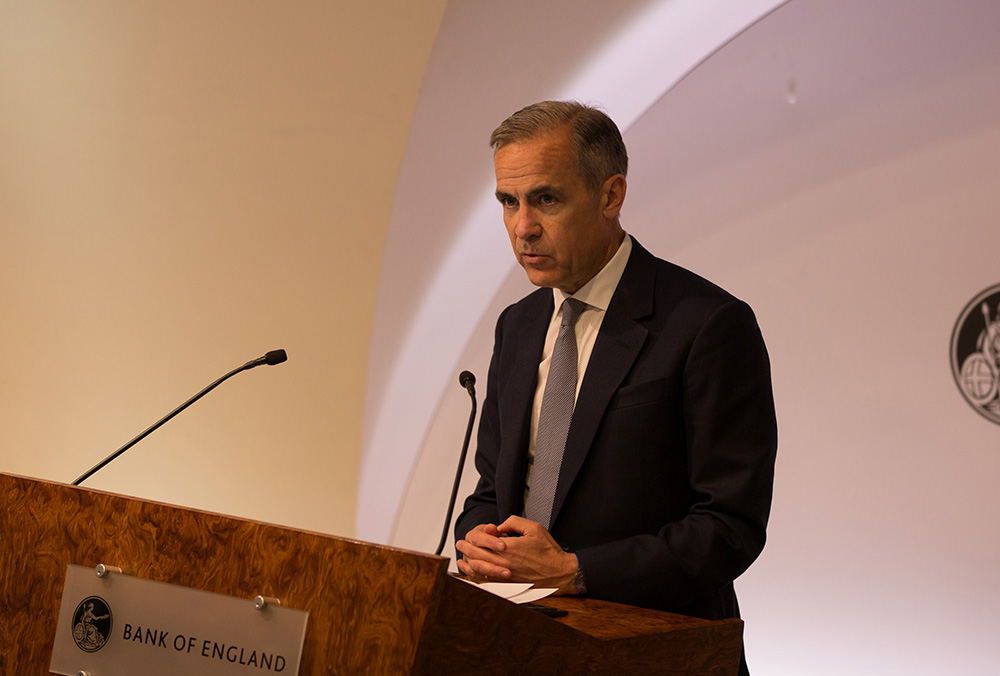 Mark Carney at the Gender and Career Progression Conference
