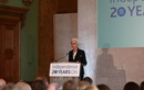 Christine Lagarde presenting at the Independence conference