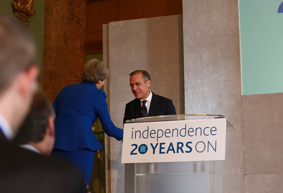 Mark Carney and the Theresa May