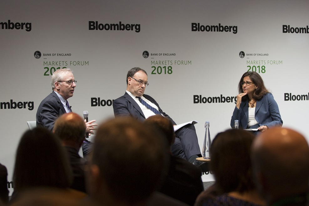 Bill Dudley, Andrew Bailey and Minouche Shafik