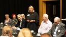Discussion panel at the Community Forum, Corby