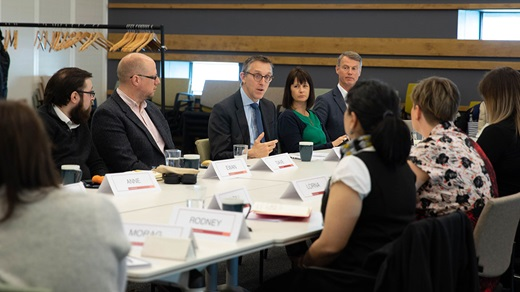 Deputy Governor Sam Woods in a series of community engagement events in Glasgow and Dundee