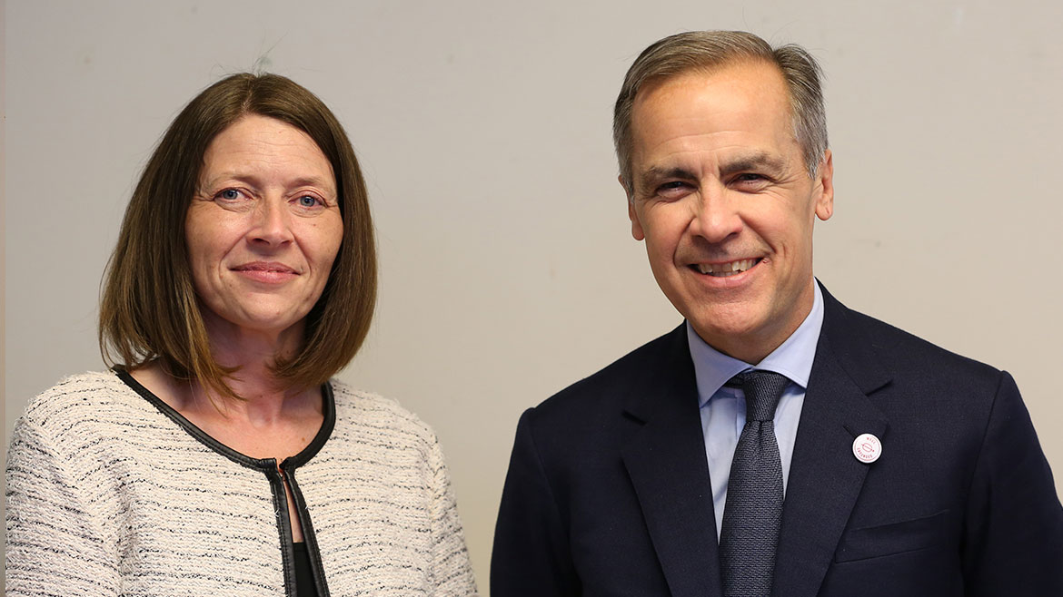 Mark Carney - Tower Hamlets Townhall