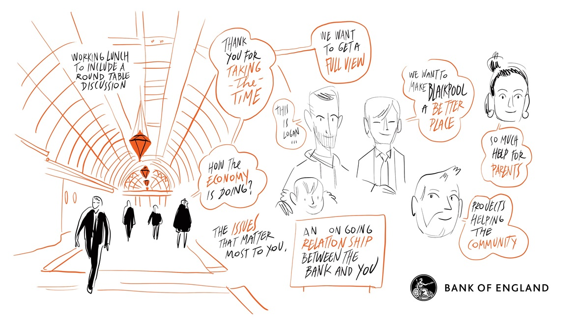 Summary sketch - Town hall at Blackpool