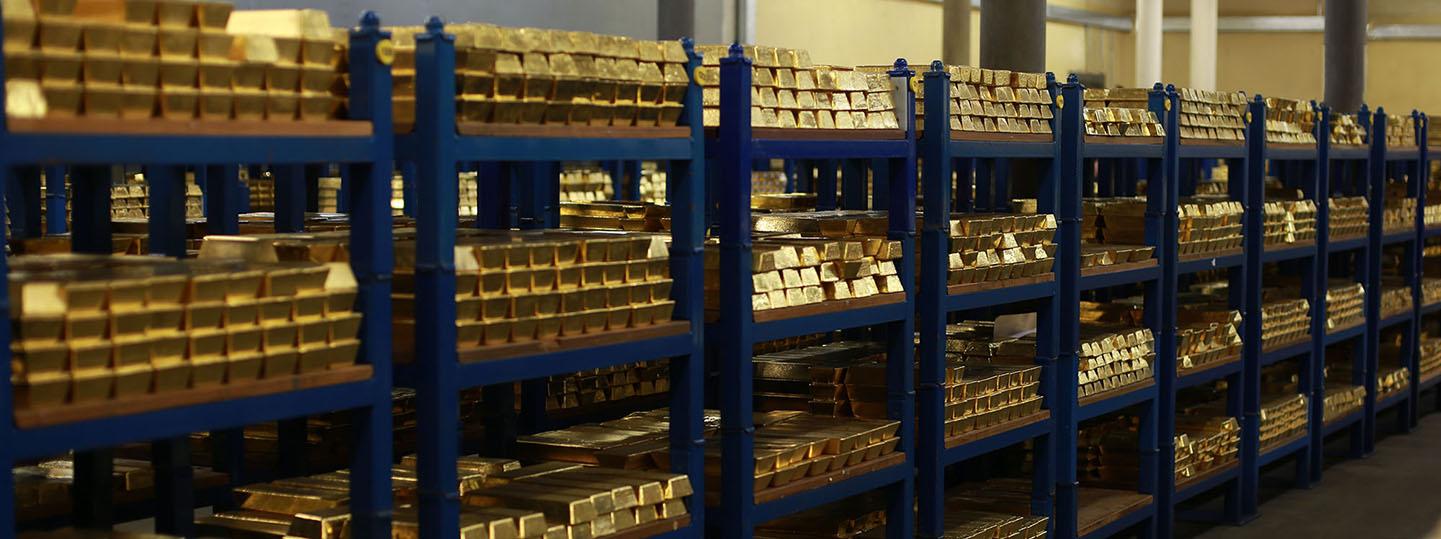 Imagen de cámara acorazada del Banco de Inglaterra