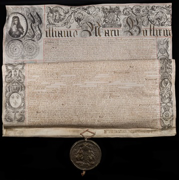 The original Bank of England Charter