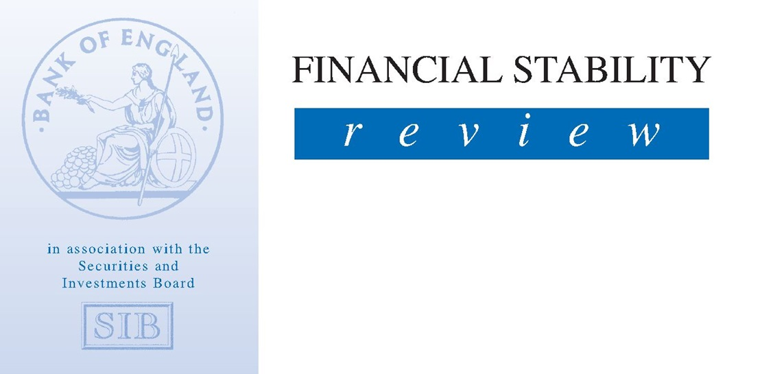 Financial Stability Review - Issue One, Autumn 1996