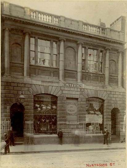 Bank of England old Gloucester Branch, c. 1900 (Archive reference: 15A13/12/4/1)