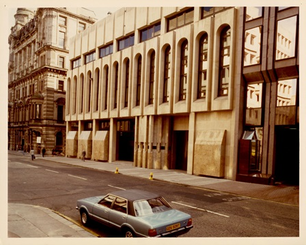 Glasgow Office, May 1979 which later became the Agency for Scotland in 1997 (Archive reference: 15A13/12/16/13)