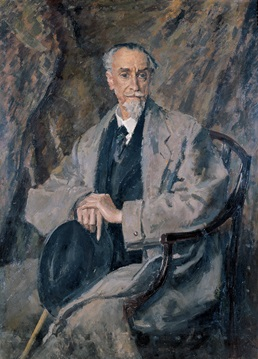Montagu Norman, Bank of England Governor 1920 - 1944. Portrait by Augustus John