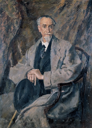 Montagu Norman, Bank of England Governor 1920-44. Portrait by Augustus John