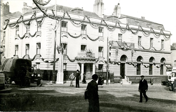 Bank of England Plymouth Branch, 1935 (Archive reference: 15A13/12/12/9)