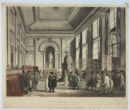 The Great Hall, by Thomas Rowlandson, 1064