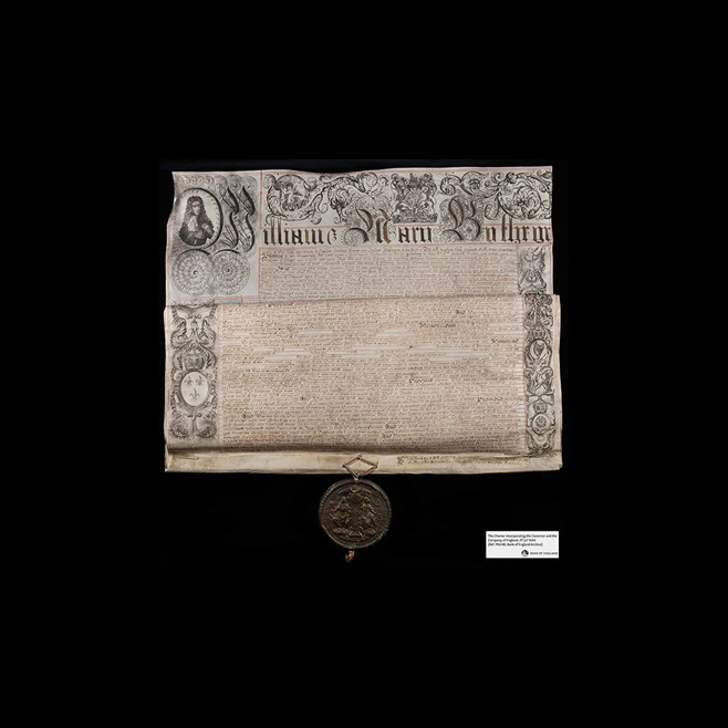 Bank of England Charter 1