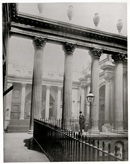Taken in 1894, this photograph looks through to the old Lothbury Courtyard