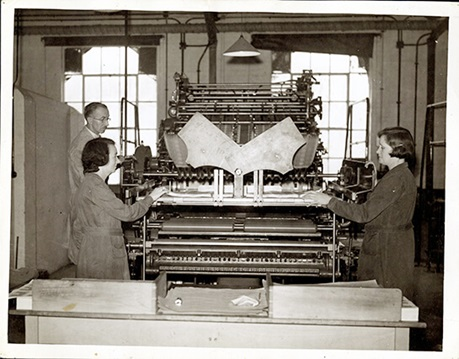 Unknown, Bank of England Printing Works at Overton, Bank of England Archive: 15A13/15/119