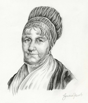 Emma Cook, Portrait of Elizabeth Fry, c.2000
