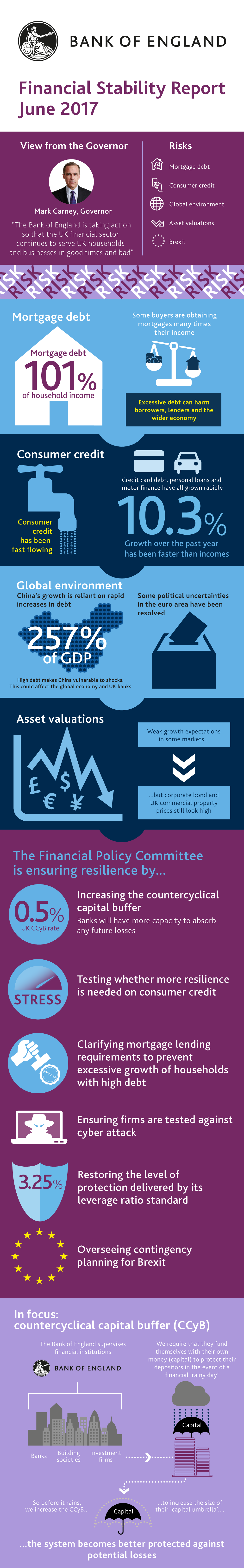 Visual summary of the Financial Stability Report - June 2017