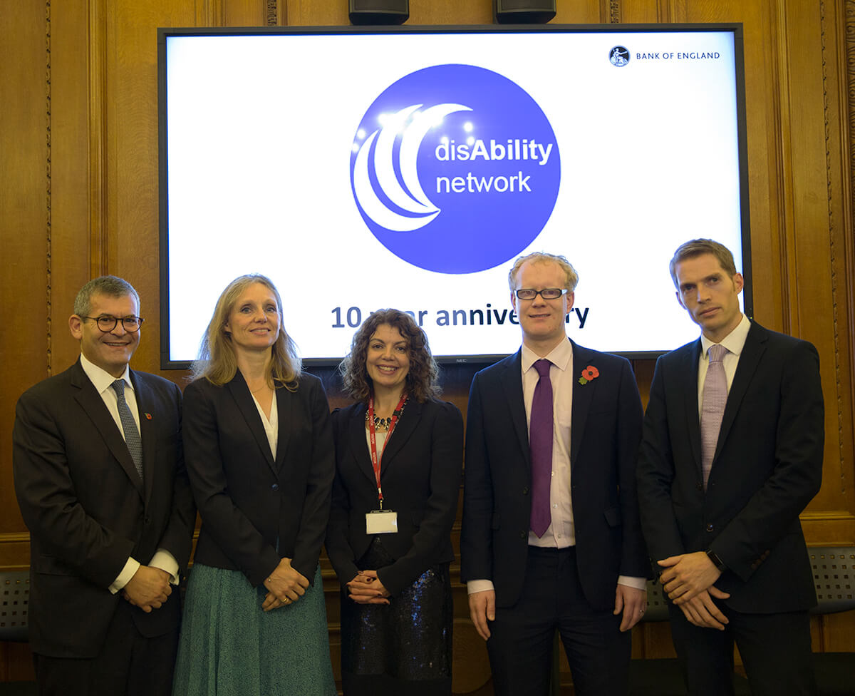 Launch of our disability This is me film at the Bank of England