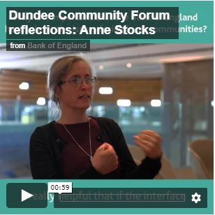 Video of Anne Stocks, giving her reflections of Dundee Community Forum