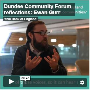 Video of Ewan Gurr, giving his reflections of Dundee Community Forum