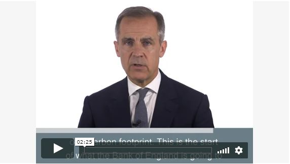 Video of Governor Mark Carney speaking about the Future of Finance